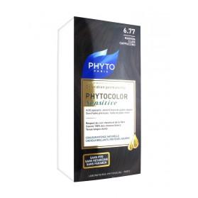 Phyto Phytocolor Sensitive Coloration Permanente 6.77 Marron Clair Cappucino