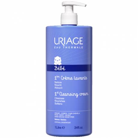 Uriage Bébé Crème Lavante Surgras Moussant sans savon 1L
