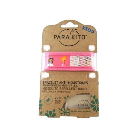 Para'Kito Bracelet Anti-moustique Kids Rose Princesse