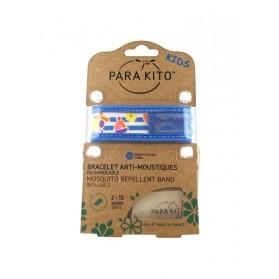 Para'Kito Bracelet Anti-moustique Kids Bleu bateau
