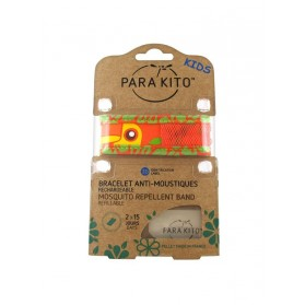 Para'Kito Bracelet Anti-moustique Kids Orange Toucan