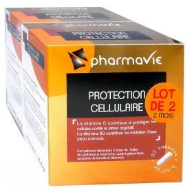 PHARMAVIE PROTECTION CELLULAIRE 30 CAPSULES LOT DE 2