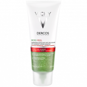 VICHY - Dercos - Micro Peel Shampooing Exfoliant Anti-pelliculaire, 200ml