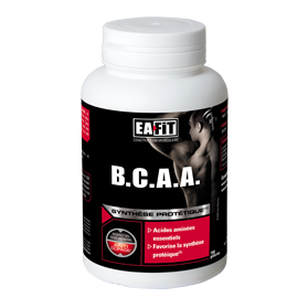 EAFIT BCAA Synthèse Protéique 180 gélules
