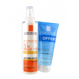 La Roche-Posay Anthelios XL Ultra-Léger Spray SPF 50+ 200 ml + Posthelios 100 ml Offert