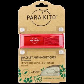 Para'Kito Bracelet Anti-moustique ROUGE