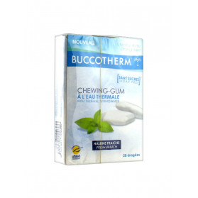 Buccotherm Chewing-Gum à l'Eau Thermale 20 Dragées