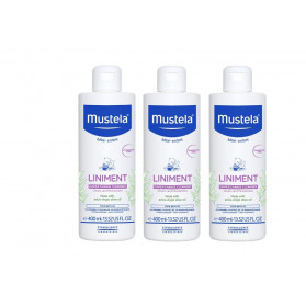 Mustela Liniment Dermo-Protecteur 400ml Lot de 3