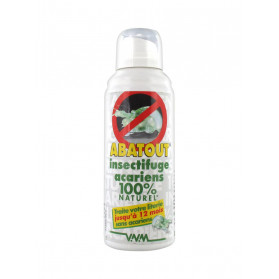 Abatout Insectifuge Acariens 100% Naturel 100 ml