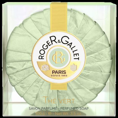 ROGER & GALLET - Thé vert - Savon Parfumé, 100g