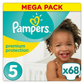 Pampers Premium Protection Taille 5 11-23 kg - 68 Couches