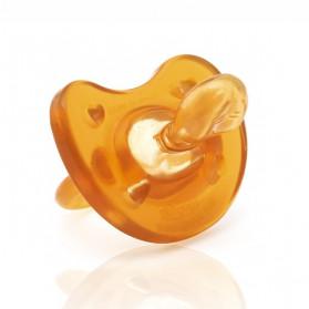 Chicco Sucette Physio Soft Caoutchouc 0-6m + Boîte stérilisable