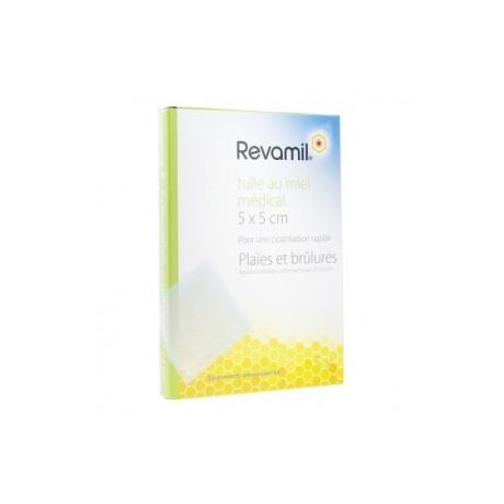 Revamil - 5 tulles imprégnées 5x5cm