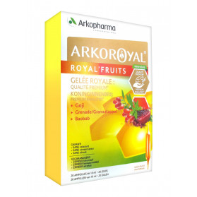 Arkopharma Arko Royal Royal'Fruits 20 Ampoules