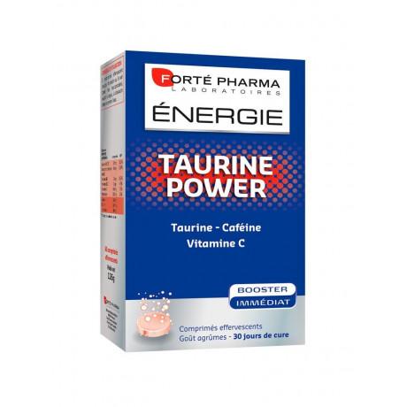 Forté Pharma Energie Taurine Power 30 Comprimés Effervescents