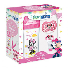 DODIE Initiation+ Coffret Biberon Minnie 330 ml