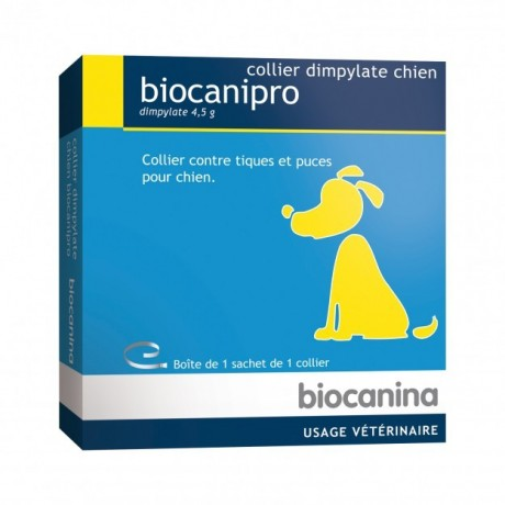 Biocanina Collier insecticide Biocanipro pour chien