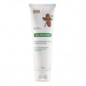Klorane Cheveux Crème de jour sans rinçage au dattier du désert 125ml