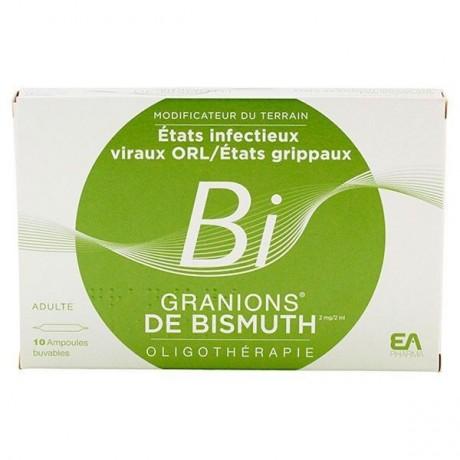 Granions De Bismuth Etats Infectieux Viraux ORL