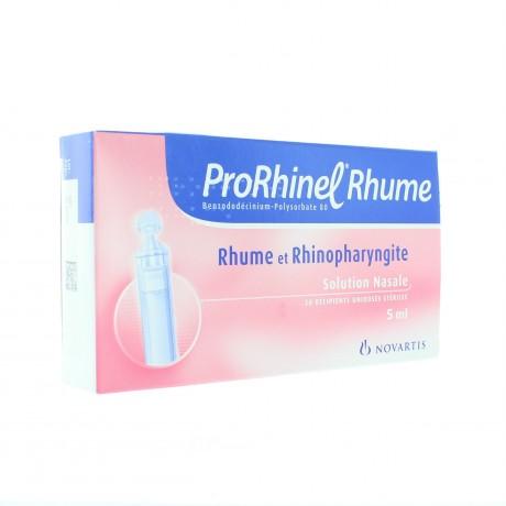 Prorhinel Rhume Solution Nasale 20 Récipients Unidose de 20ml