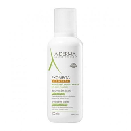 A-Derma exomega control baume émollient 400ml