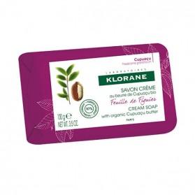 Klorane corps savon crème feuille de figuier 100g