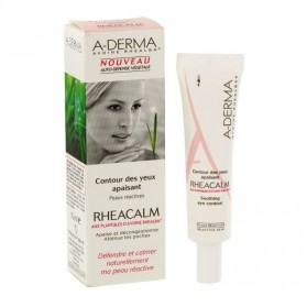 A-derma rheacalm crème contour des yeux apaisant 15ml