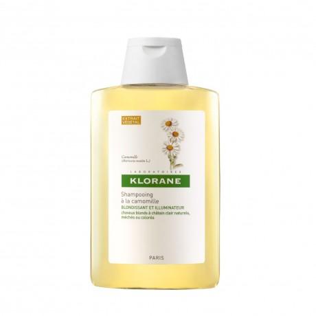 Klorane Shampooing blondissant et illuminateur à la camomille 200ml