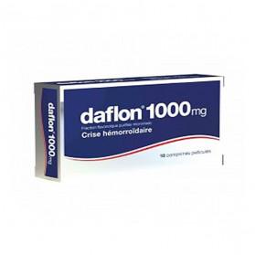 Daflon 1 000 mg 18 comprimés