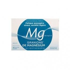 Granions de Magnésium 30 ampoules