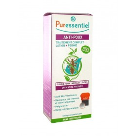 Puressentiel Spray Anti-Poux + Peigne 100ml