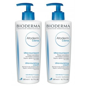 BIODERMA ATODERM CREME CORPS ULTRA-NOURRISSANTE 2X500 ML